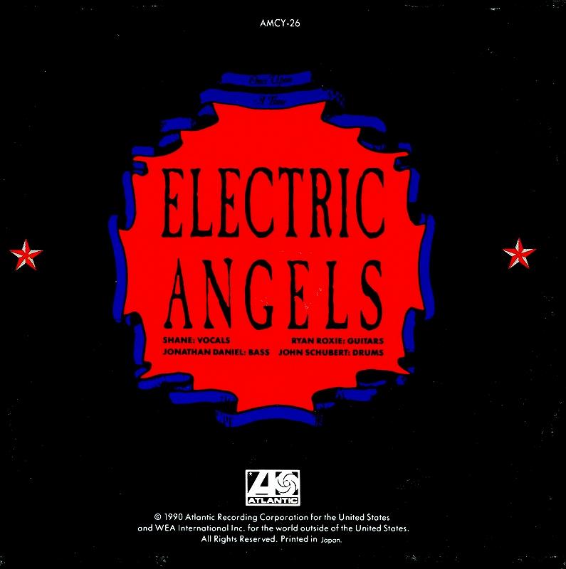 ELECTRIC ANGELS/エレクトリック・エンジェルス 90年作 国内盤 グラム・メタル
