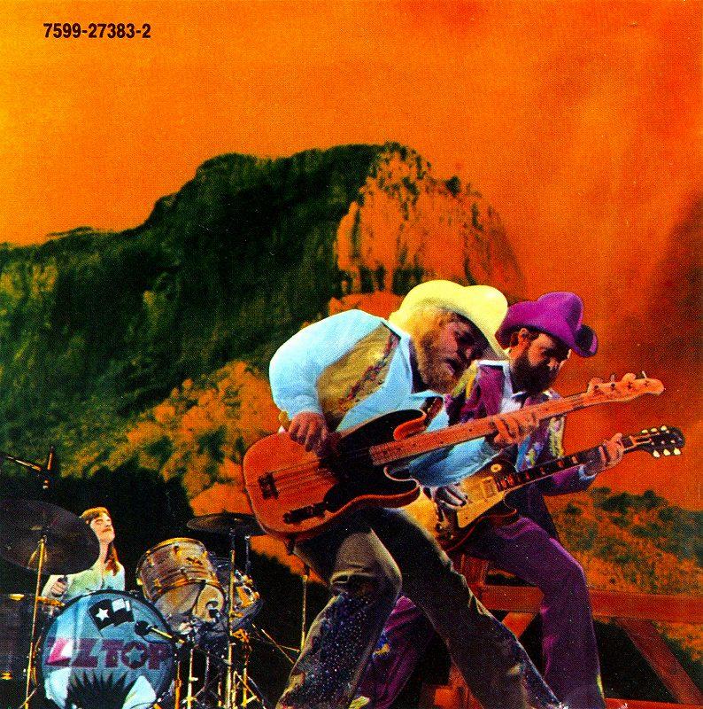 ZZ TOP/TEJAS ZZ トップ テハス 76年作 通算5作目 アメリカン・ハード傑作