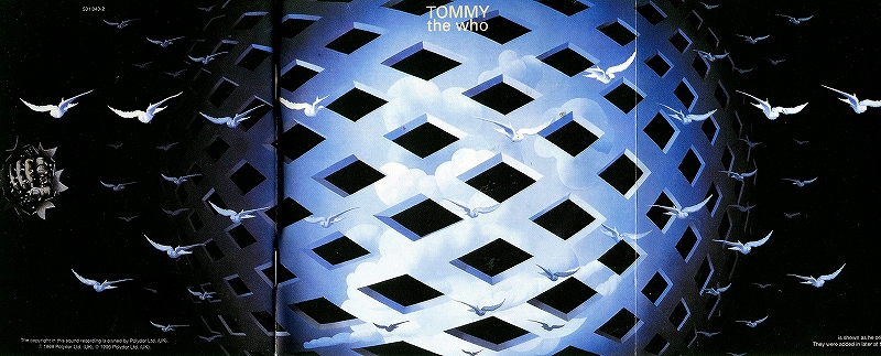 THE WHO/TOMMY ザ・フー ロック・オペラ 「トミー」 69年作 リマスター盤