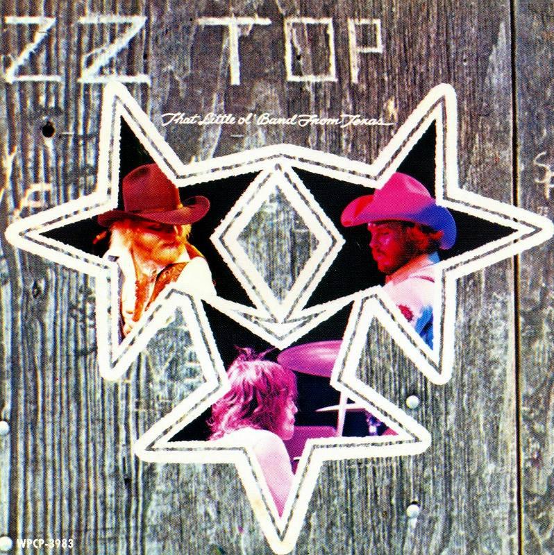 ZZ TOP/FANDANGO! ZZ トップ ファンダンゴ 75年作 国内盤 必聴作