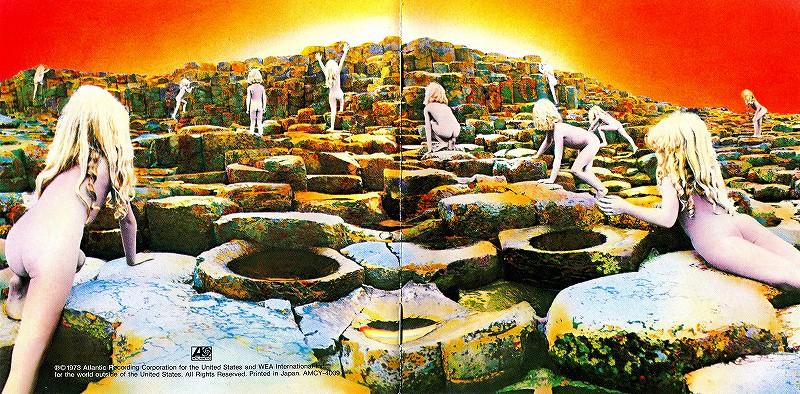 LED ZEPPELIN/HOUSES OF THE HOLY 聖なる館 国内リマスター盤 73年作