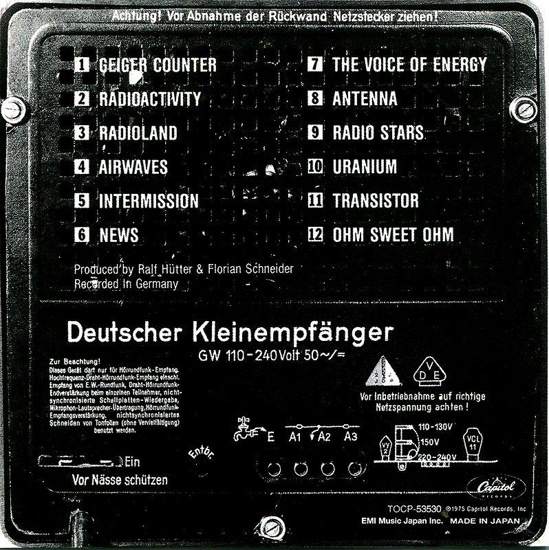 KRAFTWERK/RADIO-ACTIVITY 国内盤 クラフトワーク 放射能 74年作