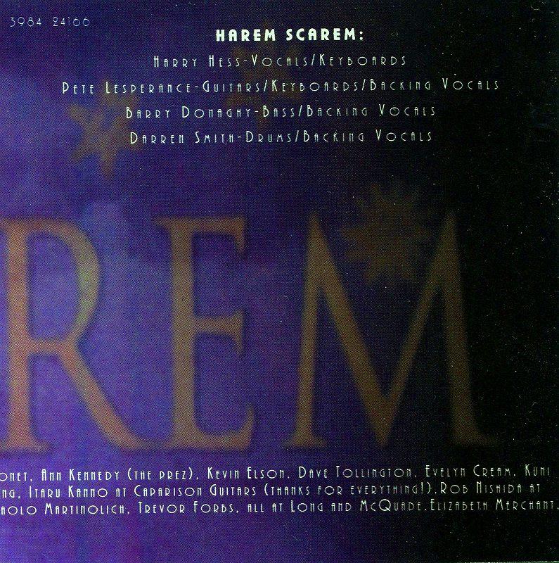 HAREM SCAREM/BEST OF...  ハーレム・スキャーレム ベスト盤 17曲入り