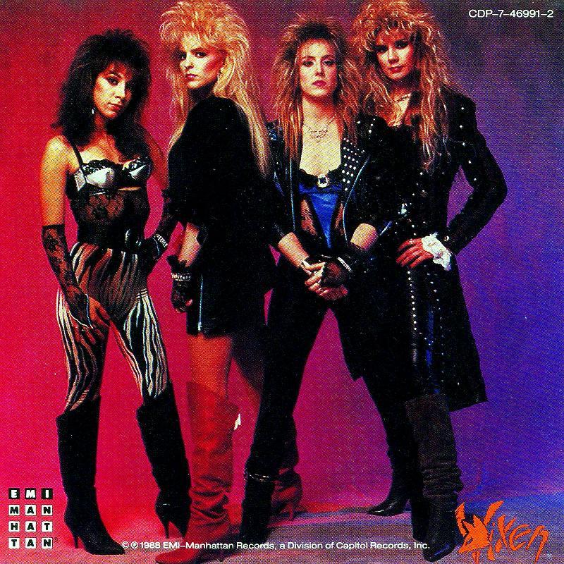 VIXEN/ヴィクセン 88年作 美形女性バンド ポップ・メタル名盤 新品