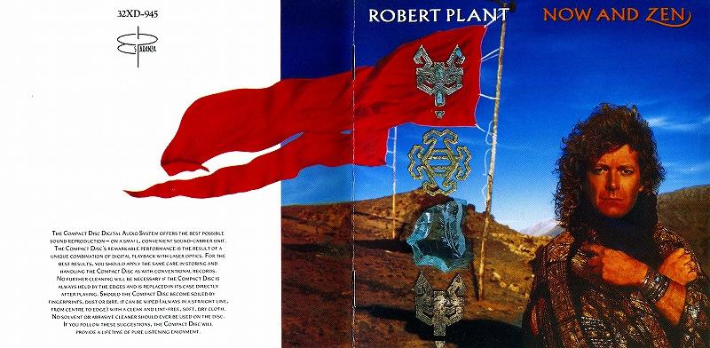 ROBERT PLANT/NOW AND ZEN ロバート・プラント 88年作 国内旧規格盤