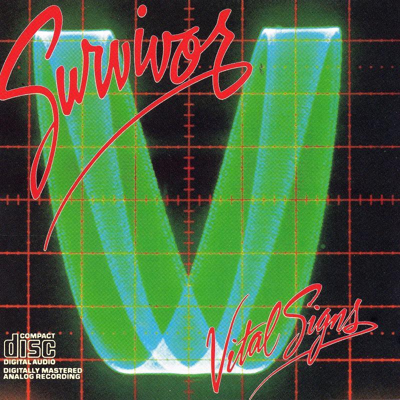 SURVIVOR/VITAL SIGNS サバイバー バイタル・サインズ 84年作