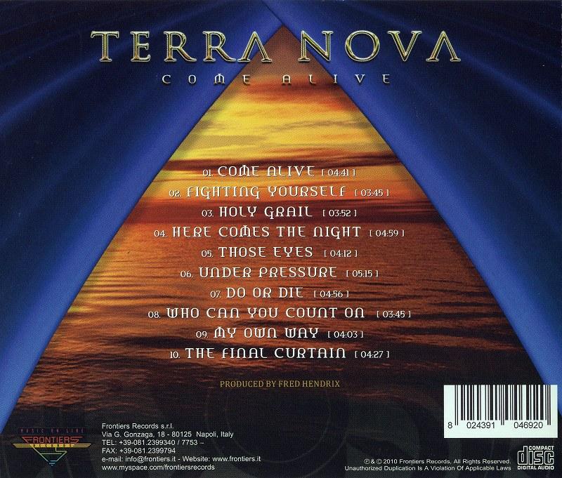 TERRA NOVA/COME ALIVE テラ・ノヴァ カム・アライヴ 2010年作