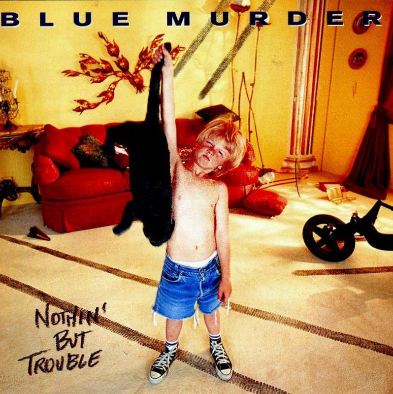 BLUE MURDER/NOTHIN' BUT TROUBLE ブルー・マーダー ジョン・サイクス 国内盤