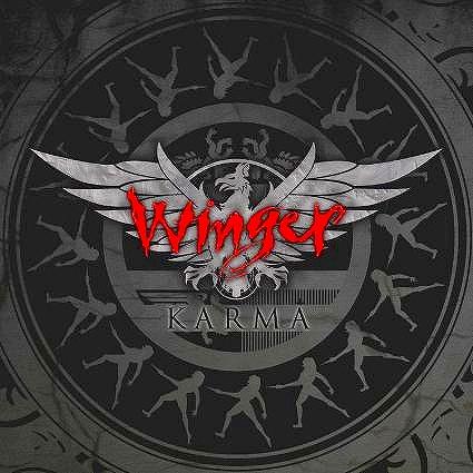 WINGER/KARMA ウインガー カーマ 2009年作 国内盤 ステッカー付