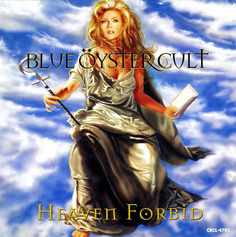 BLUE OYSTER CULT/HEAVEN FORBID ブルー・オイスター・カルト 国内盤