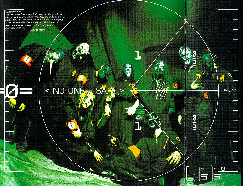SLIPKNOT/IOWA スリップノット アイオワ 2001年作 セカンド・アルバム 国内盤