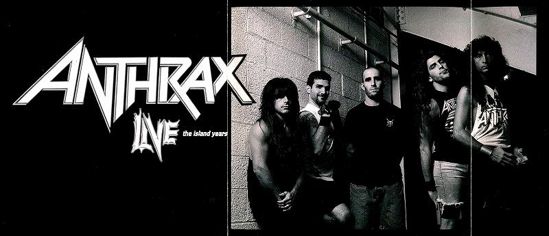 ANTHRAX/LIVE THE ISLAND YEARS アンスラックス 初期ライヴ
