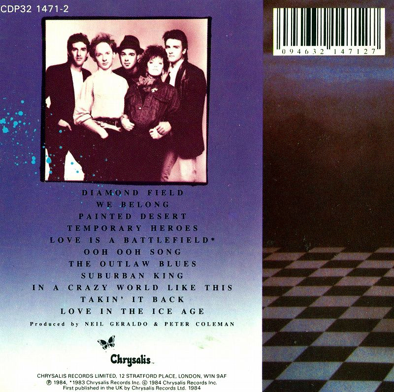PAT BENATAR/TROPICO 84年作 パット・べネター トロピコ 80'sポップ名盤