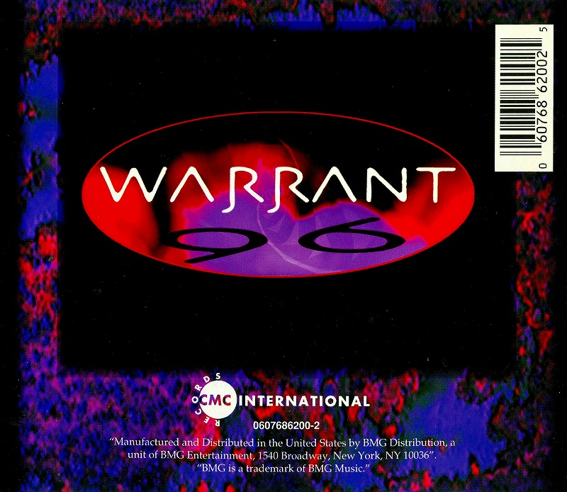 WARRANT/BELLY TO BELLY VOLUME ONE ウォレント 96年作