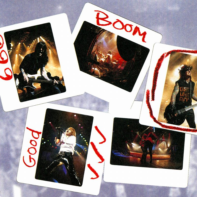MOTLEY CRUE/LIVE: ENTERTAINMENT OR DEATH 2枚組ライヴ 99年