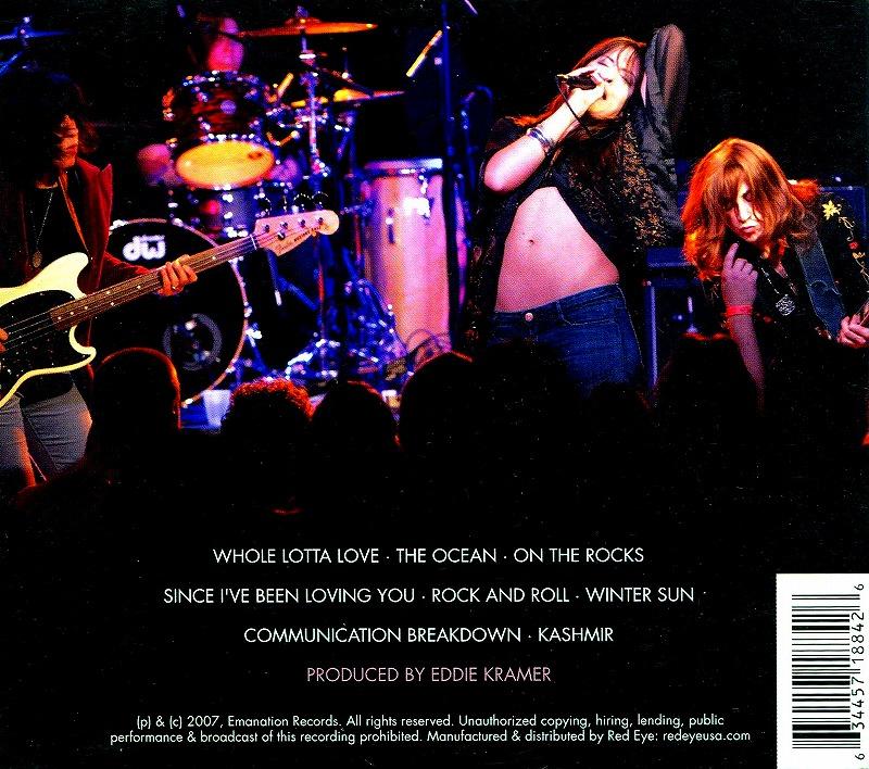 LEZ ZEPPELIN/レズ・ツェッペリン 2007年作 女性4人組 トリビュート・バンド