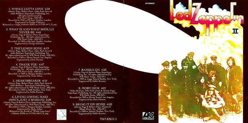 LED ZEPPELIN/LED ZEPPELIN � リマスター盤 69年作 歴史的大名盤