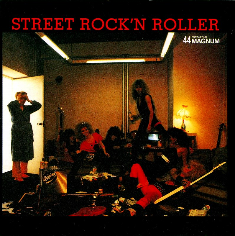 44MAGNUM/STREET ROCK'N ROLLER + ACTOR 44マグナム 2枚セット