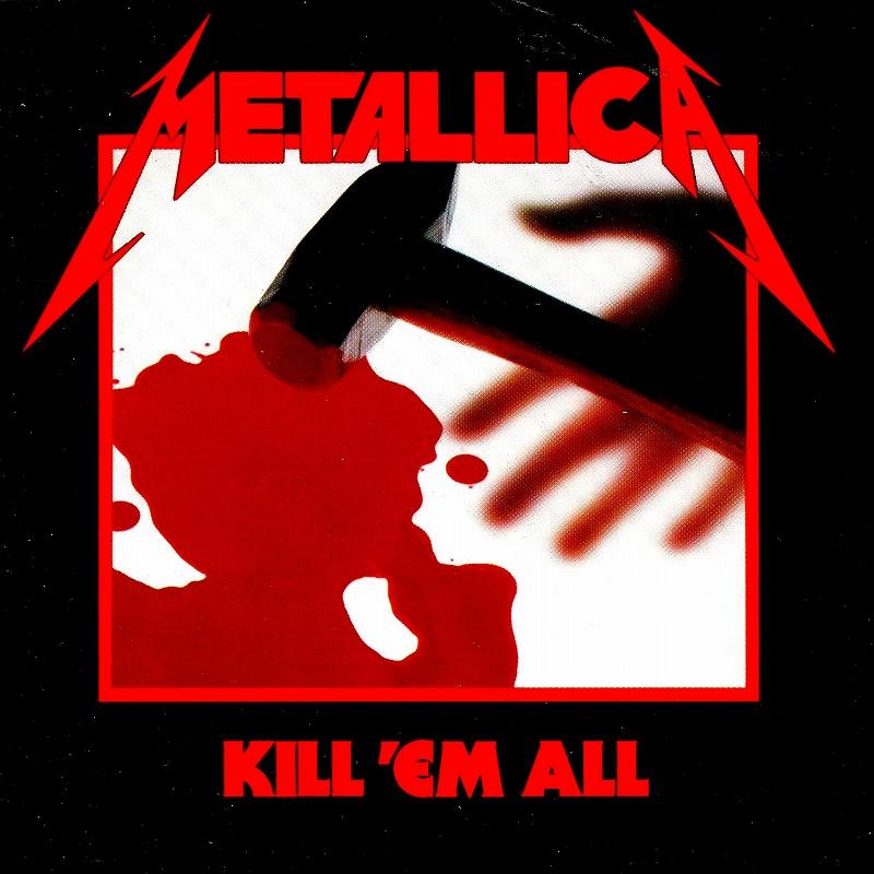 METALLICA/KILL 'EM ALL メタリカ キル・エム・オール 83年作 国内盤 SHM-CD