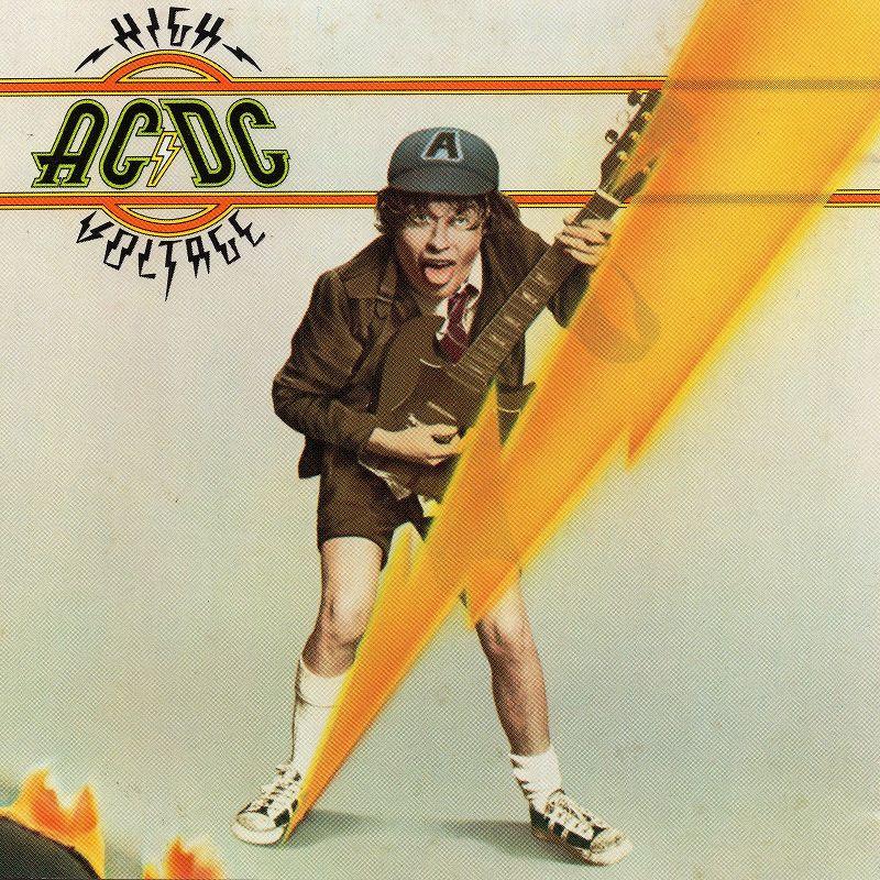 AC/DC HIGH VOLTAGE ハイ・ヴォルテージ 76年作 ボン・スコット