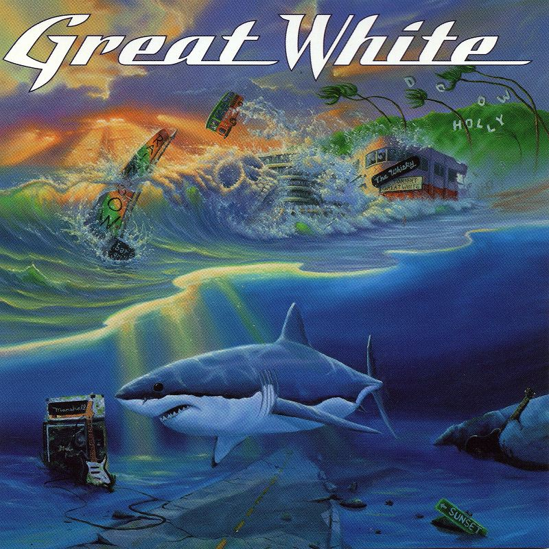 GREAT WHITE/CAN'T GET THERE FROM HERE グレイト・ホワイト 99年作