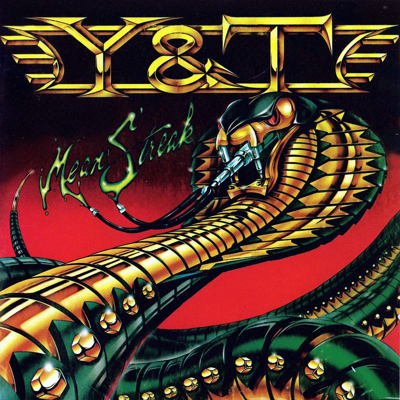 Y&T/MEAN STREAK 83年作 ミーン・ストリーク リマスター盤 通算5作目