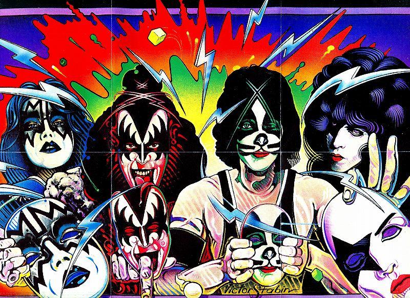 KISS/UNMASKED 仮面の正体 キッス 80年作 国内リマスター盤