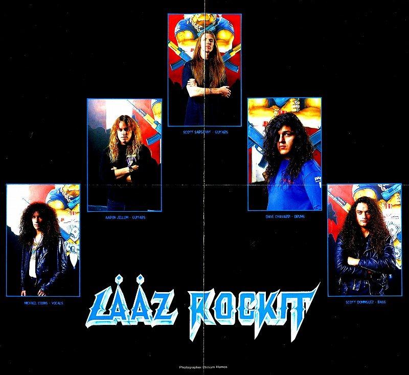 LAAZ ROCKIT/NOTHINGS SACRED ラーズ・ロキット 91年 国内盤