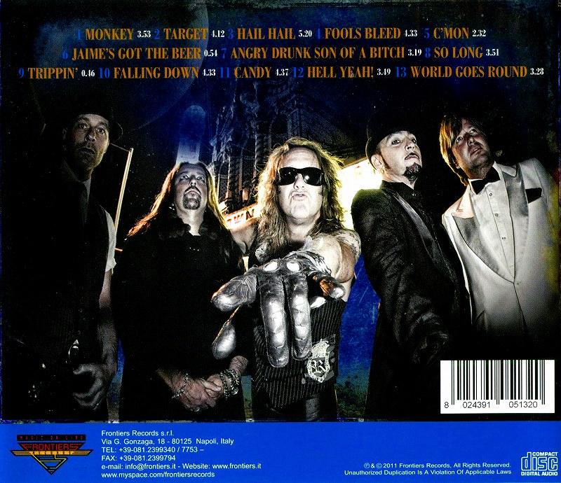 BLACK 'N BLUE/HELL YEAH! ブラック・アンド・ブルー 復活作 2011年作