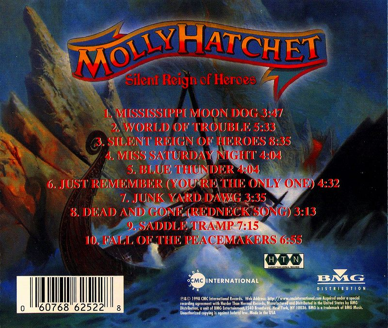 MOLLY HATCHET/SILENT REIGN OF HEROES モリー・ハチェット 98年作