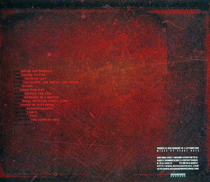 MACHINE HEAD/THE BURNING RED マシーン・ヘッド 99年作 国内盤