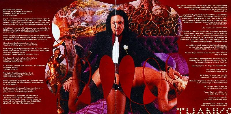 GENE SIMMONS/ASSHOLE ジーン・シモンズ アスホール 2004年作 キッス