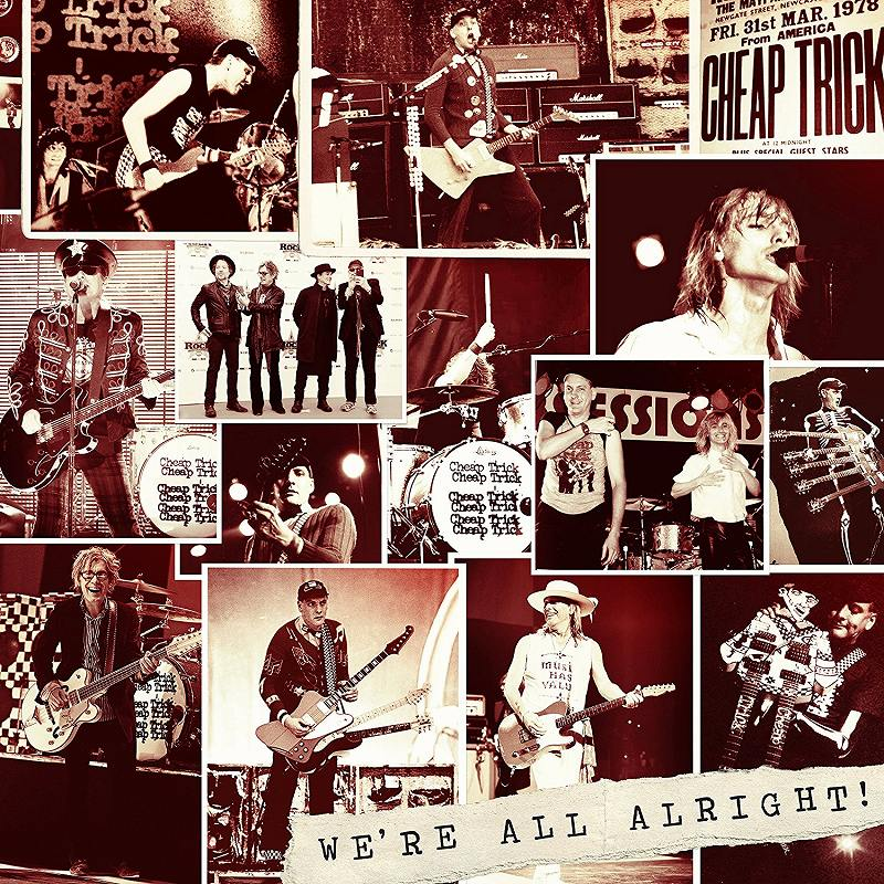 CHEAP TRICK/WE'RE ALL ALRIGHT! 2017年作 新品 紙ジャケ DELUXE