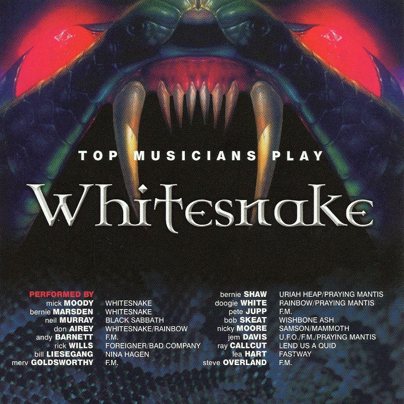 TOP MUSICIANS PLAY WHITESNAKE ホワイトスネイク トリビュート盤