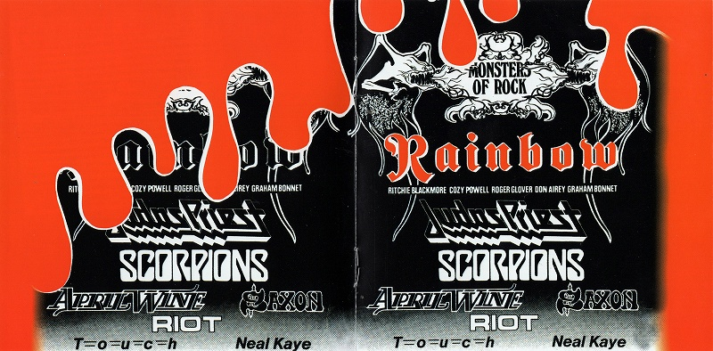 SAXON/LIVE AT DONNINGTON 1980 サクソン MONSTERS OF ROCK ライブ