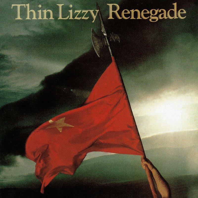 THIN LIZZY/RENEGADE シン・リジィ レネゲイド 反逆者 リマスター盤 81年作