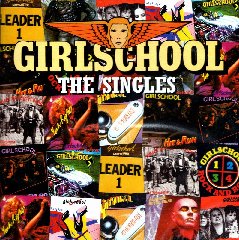 GIRLSCHOOL/THE SINGLES ガールスクール ザ・シングルズ 2枚組 新品