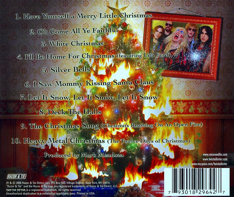 TWISTED SISTER/A TWISTED CHRISTMAS トゥイステッド・シスター
