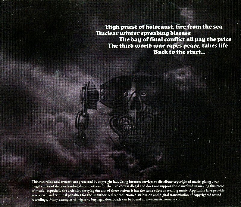 MEGADETH/GREATEST HITS: BACK TO THE START 狂乱の歴史 国内盤