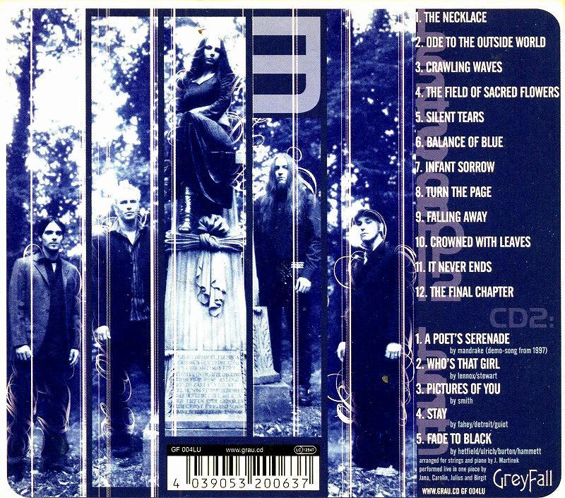 MANDRAKE/THE BALANCE OF BLUE マンドレイク 05年作 ドイツ産ゴシック・メタル