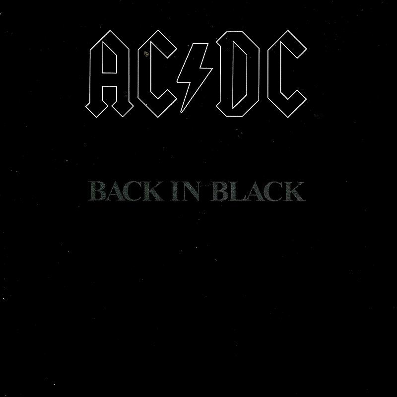 AC/DC BACK IN BLACK 80年作 バック・イン・ブラック 国内紙ジャケ盤