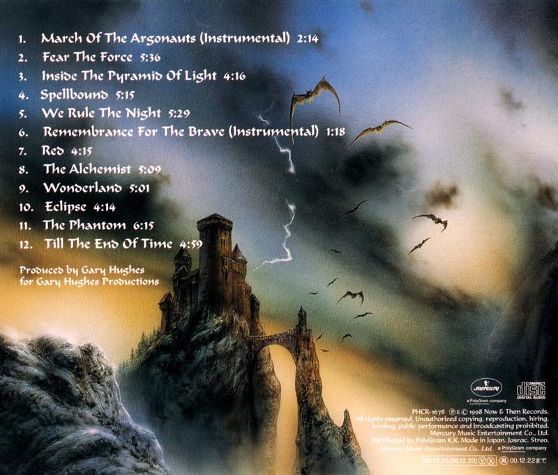 TEN/SPELLBOUND テン スペルバウンド 98年作 国内盤 ゲイリー・ヒューズ