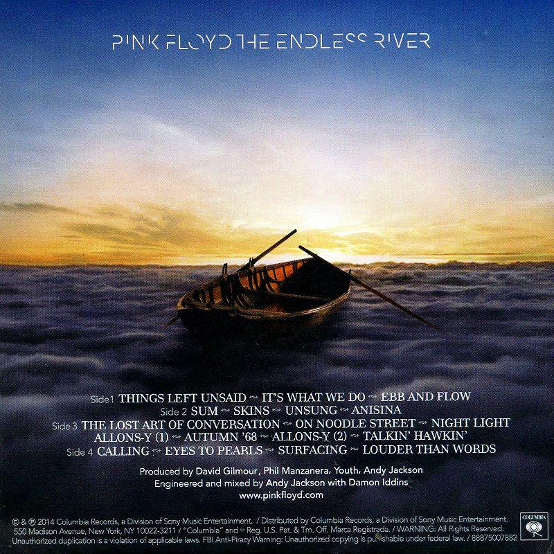 PINK FLOYD/THE ENDLESS RIVER 永遠 TOWA 通常盤 新品