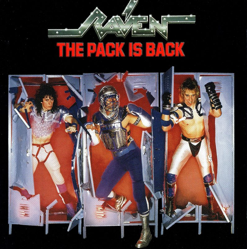 RAVEN/THE PACK IS BACK レイヴン ザ・パック・イズ・バック 国内盤