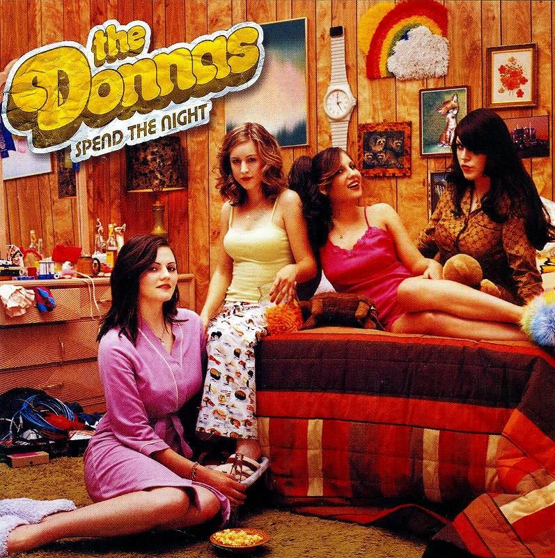 THE DONNAS/SPEND THE NIGHT ザ・ドナス スペンド・ザ・ナイト