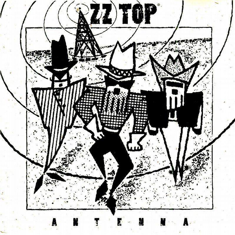ZZ TOP/ANTENNA ZZ トップ アンテナ 国内盤 94年作 隠れ名盤
