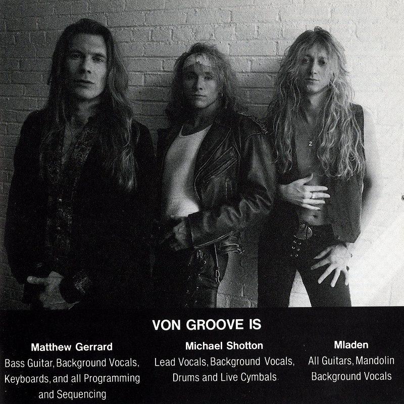 VON GROOVE/ヴォン・グルーヴ 93年作 国内盤 カナディアン・メロディアス・ハード