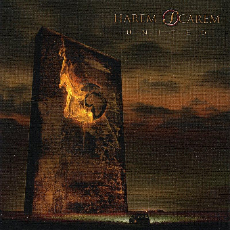 HAREM SCAREM/UNITED 国内通常盤 ハーレム・スキャーレム ユナイテッド 2017年作