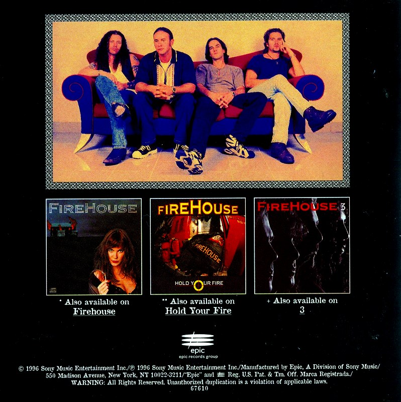 FIREHOUSE/GOOD ACOUSTICS ファイアーハウス グッド・アコースティックス