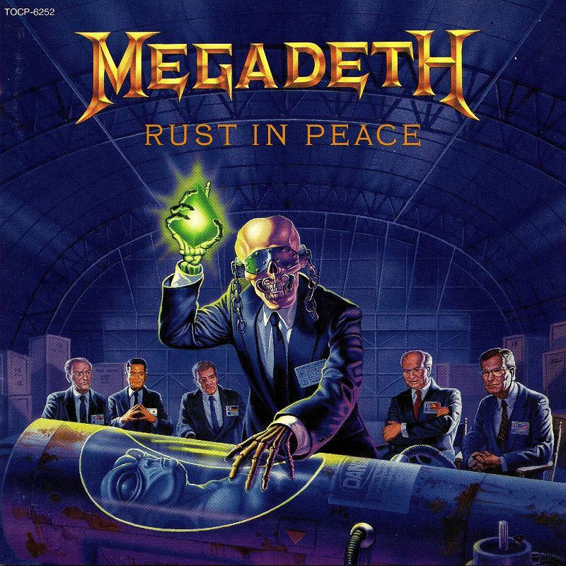 MEGADETH/RUST IN PEACE メガデス ラスト・イン・ピース 90年作 国内旧規格盤